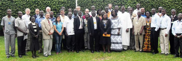 Participants at the launch of the cassava Challenge Initiative.